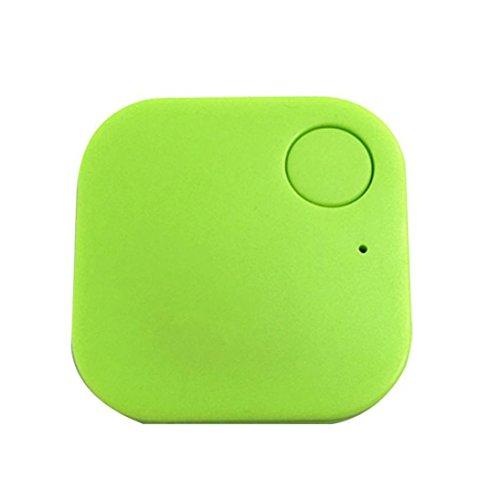 localizador gps, Sannysis localizador gps bicicleta, llavero localizador gps, Rastreadores de alarma GPS para niños, personas, perros etc - apoyo IphoneIpad mini/Ipad air/5/4/3 (Verde)