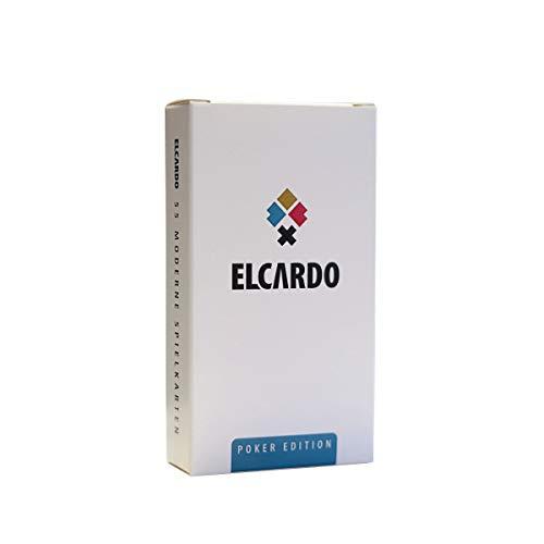 ELCARDO 55 Moderne Spielkarten Poker Edition