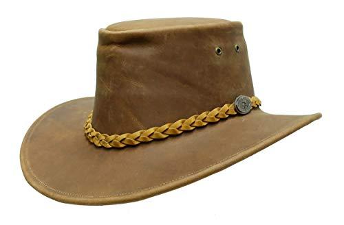 Sombrero de piel de vaquero australiano para niños, fabricado en Australia