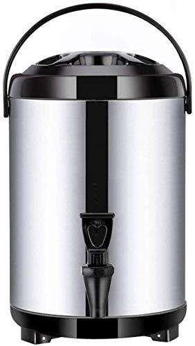 Dispensador de bebidas calientes con grifo y trípode plegable, 8L / 10L...