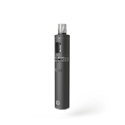 LYNDEN® NOW 2.0 E Zigarette Starterset   Topfill   15W - 25W   2ml Tank   e Shisha Starterset   Elektronische Zigarette (Schwarz)