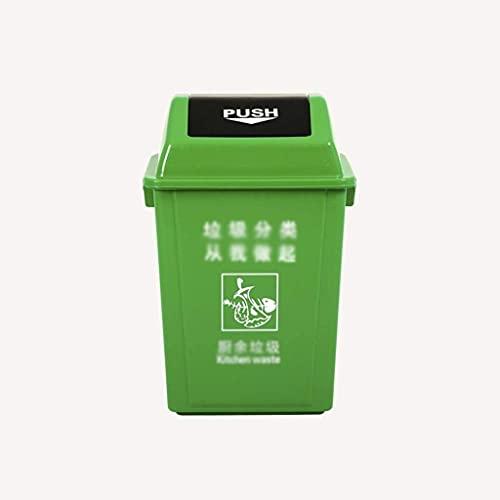 ZSY Plaza Pública Reciclaje Contenedores De Reciclaje, Parque De La Calle Patio De Patio De Caballo De Caballo De Caballo De Caballo Guarda Guarda Caja de Clasificación de Basura Espacio