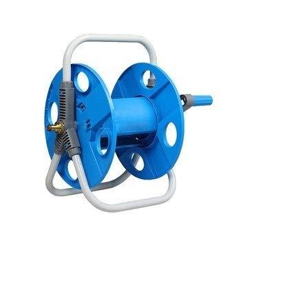 Portable tuinslangen Wall Mount 10-40 M 1/2 Water Pipe van de wasmachine, de auto van de automatische Tool Holder Stand Rack (Color : Sky Blue)