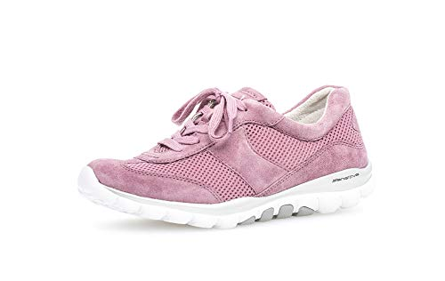 Gabor Damen Halbschuhe, Frauen Sneaker Low,lose Einlage,Lady,Ladies,Women's,Halbschuhe,straßenschuhe,rosa,38 EU / 5 UK