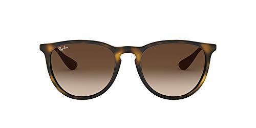 Ray-Ban Erika Classic Gafas de sol, Marrón (Tortoise/Gunmetal/Brown Gradient), 54 Unisex-Adulto