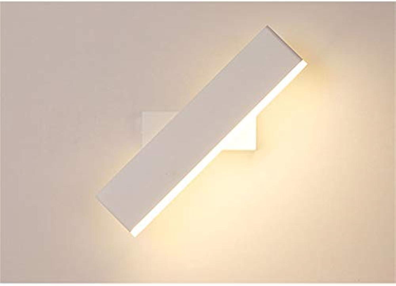 Drehbare Aluminium Wandleuchte-Wohnzimmer Schlafzimmer Hotelzimmer Bedside Aisle Wall Lights (Farbe  Wei) -6W