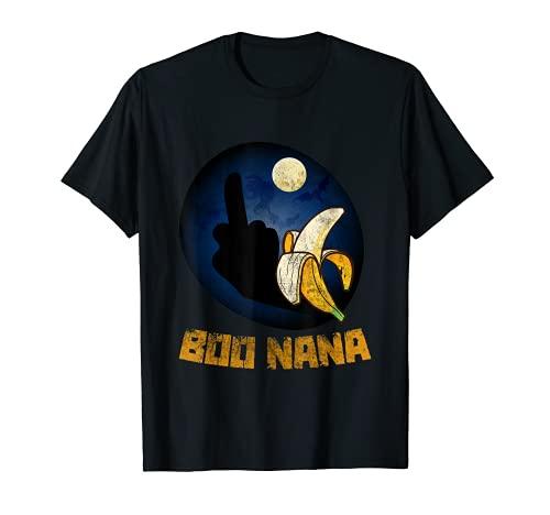Diseño divertido para hombre y mujer, para Halloween, Boo Boonana, Banana Camiseta
