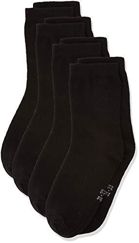 NAME IT Nknsock 5p Noos Calcetines, Negro (Schwarz Black), 37 (Pack de 5) para Niños