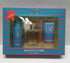 LIO de Ágatha R. Prada estuche EDT 100 ml + DEO spray 150 ml + GEL 150 ml
