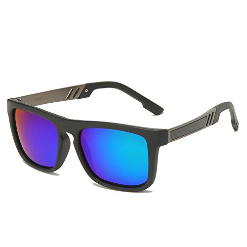 Shihuam Tr90 Polaroid Zonnebril Vierkant Flexibel Rijden Rubber Vierkante Zonnebril Mannen Gepolariseerde Zonnebrillen Voor Vrouwen Mannen