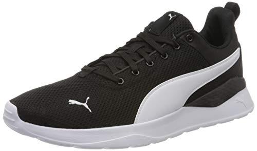 PUMA Unisex Adult Anzarun Lite Sneaker, Black White, 42 EU