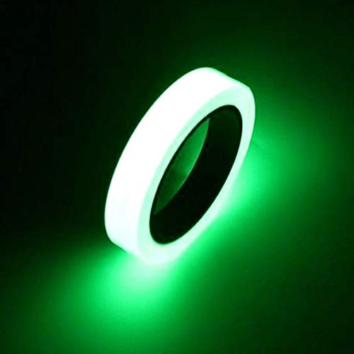 12MM 3M Luminous Bike sticker Self-adhesive Bicycle Tape Night Vision Glow In Dark Safety Warning Security sticker for cycling s,15mmx3m