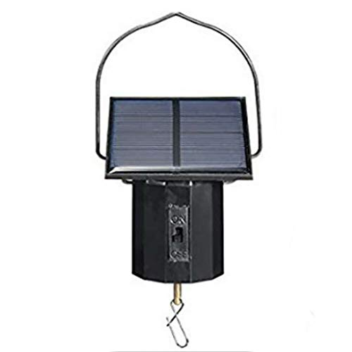 AQ89 Spinner Rotator Motor Solar Powered Wind Spinner Hanging Metal Large Electric Tool Home & Garden Tools & Home Improvement