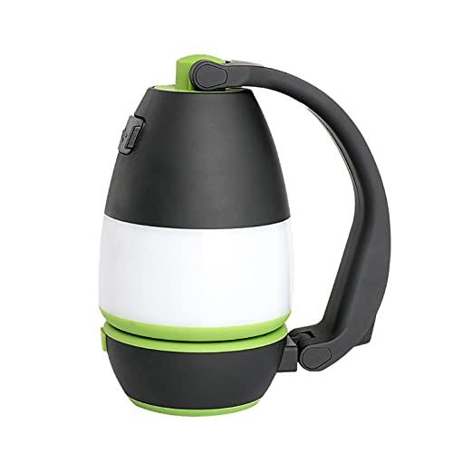 Linterna de luz de trabajo LED Pommee, luz de camping plegable 3 en 1 junto a la linterna de la lámpara, lámpara de escritorio con gancho y base magnética para acampar, ir de excursión, pescar, cortes