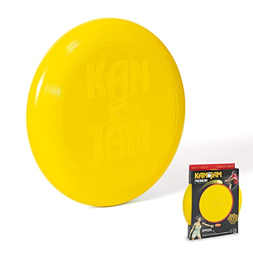 Kan Jam Premium Flying Disc - Gift for Kids and Adults for Backyard, Beach, Park, Tailgates, Outdoors and Indoors