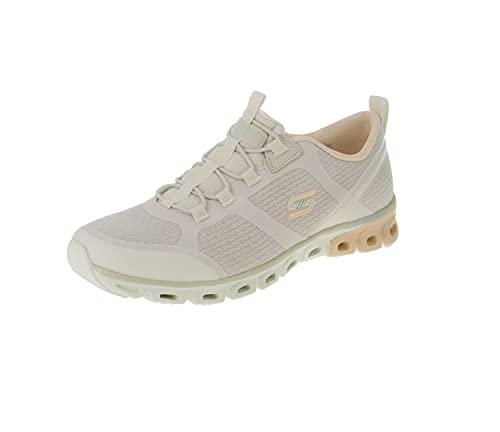 Skechers Glide Step-Dashing Days - Zapatillas deportivas para mujer, color beige, talla, color Beige, talla 41 EU