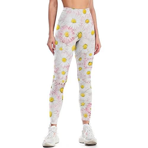 QTJY Pantalones de Yoga para Levantar la Cadera de Cintura Alta para Mujer, Pantalones de Ejercicio Push-up para Gimnasio, Mallas de Celulitis elásticas, Pantalones para Correr E M