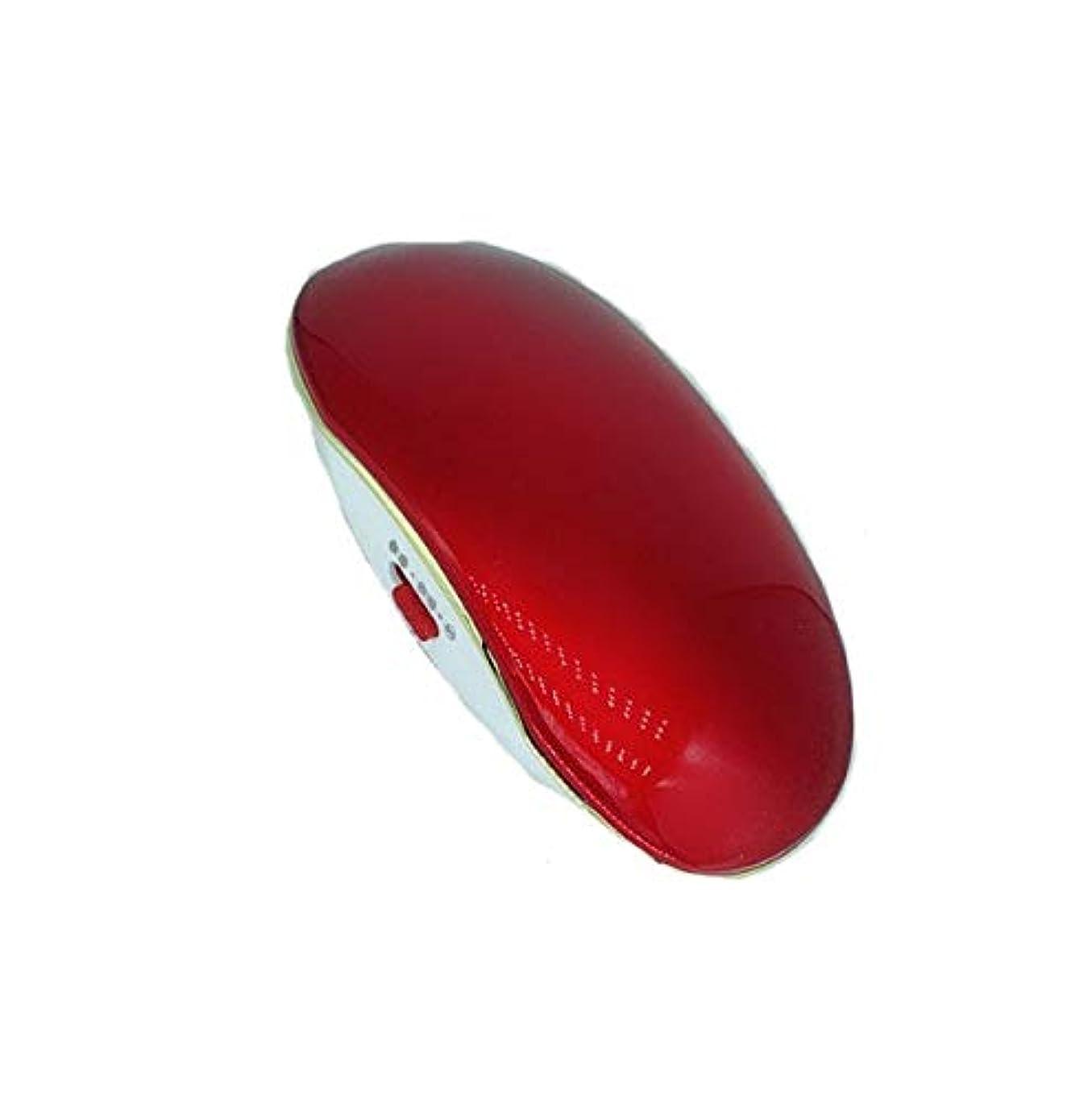 洗う気づくスポーツマンマイナスイオンマッサージコーム、赤ポータブルマイナスイオン帯電防止ストレートヘアコーム、振動マッサージコームコーム、ヘアコームギフト