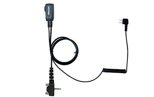 NAUZER PTT-32-Y2 YAESU Cable con Micro PTT Compatible Casco PELTOR SPORTTAC Caza