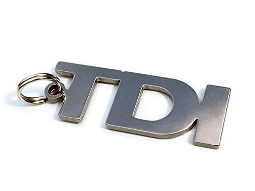 TDI Schlüsselanhänger aus hochwertigem Edelstahl