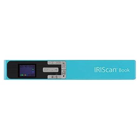 Iris Iriscan Book 5 Buchscanner Win Mac Kabellos Integrierte Wiederaufladbare Lithiumbatterie 300 600 1200 Dpi Türkis Elektronik