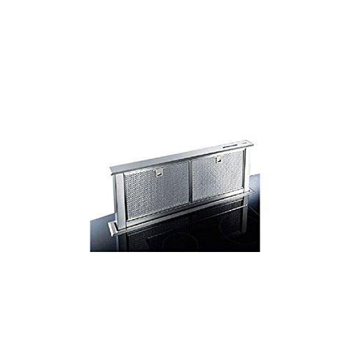 Broan HTM 90I Dunstabzugshaube Schublade Arbeitsplatte 90 cm aus Edelstahl mit Fettfilter Edelstahl