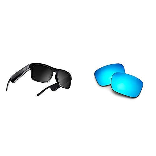 Bose Frames & Lenses Bundle- Includes Bose Frames Audio Sunglasses (Tenor Style) and Interchangeable...