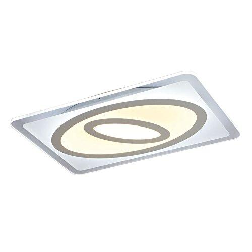 TonHan LED plafondlamp 1616-900x600. Met afstandsbediening is de lichtkleur apart instelbaar A +, led-kroonluchter, plafondlamp, plafondlamp.