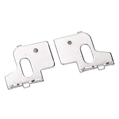 【𝐕𝐞𝐧𝐭𝐚 𝐏𝐫𝐢𝐦𝐚𝒗𝐞𝐫𝐚】 Conector de metal para máquina de tejer, izquierda + derecha, 1 par de placas de conexión de metal, para máquina de tejer KH270, máquina de coser industrial