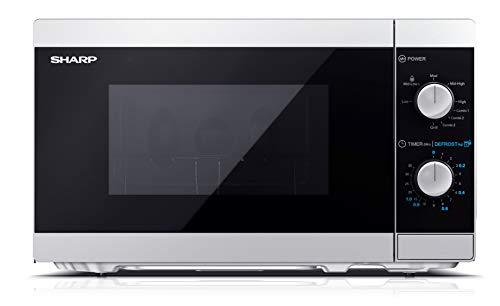 Sharp YC-MG01ES - Forno a microonde 20 litri con funzione grill, 800W...