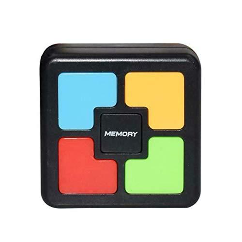WOSOSYEYO Niños Puzzle Memoria Consola de Juegos Luz LED Sonido Interactivo Juguete Entrenamiento Mano Cerebro Coordinación