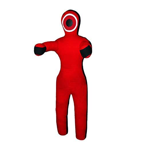 ROX Fit Grappling Maniquí realista estilo recto brasileño JiuJitsu bolsa de entrenamiento de 3 pies, 4 pies, 5 pies, 6 pies (sin rellenar) (6 pies)