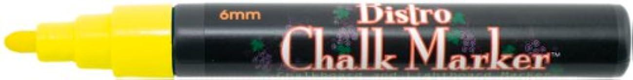 Uchida 480-C-5 Marvy Broad Point Tip Regular Bistro Chalk Marker, Yellow