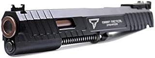 DOUBLE BELL製 東京マルイ ハイキャパ5.1 M1911A1 GBB 対応 JW3 コンバットマスター 2011 TTI/STIタイプ ハイキャパ メタルスライド一式 ブラック