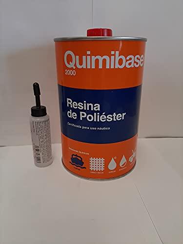 Quimibase 2000 Résine polyester 1kg +...
