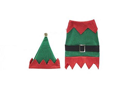 Duke & Co Pet Elf Kostüm, Klein