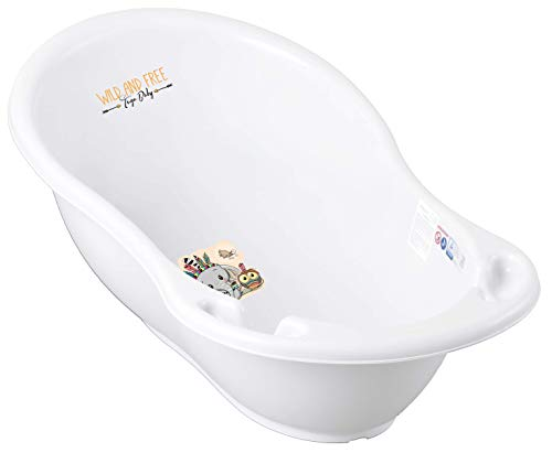 Tega Baby ® - Bañera ergonómica para bebé de 86 cm con t