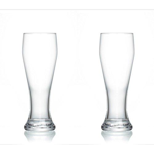 Snap by R & B 179316 blé Verre à bière 'Power4All', lisse, 690 ml (Lot de 2)