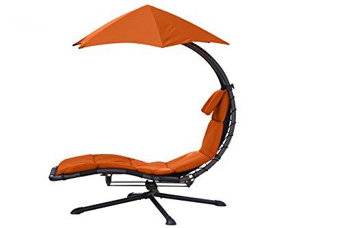 Vivere DRM360-OZ Chaise Original Dream 360 Acier Zest Orange 189 x 104 x 183 cm
