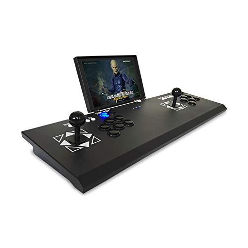 SU Arcade de Machines de Jeux pour Enfants Double avec écran LCD de 10 Pouces TV/projecteur/Ordinateur connectable à la Maison