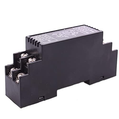 DADAKEWIN DIN 레일 장착 저항 4-20MA 0-5V 0-10V 신호 변환기 1.5KV 격리 OHM DC 신호 컨디셔너 모듈 (4-20MA에서 색상 : 0-1K)