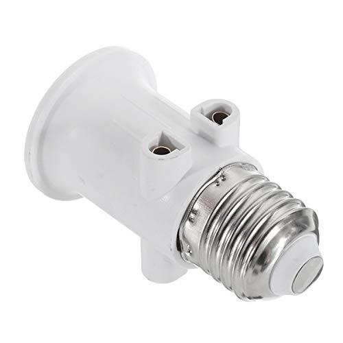 MZY1188 Convertidor de Adaptador de Tornillo de luz LED AC100-240V 4A E27 Enchufe de la UE Soporte de lámpara de iluminación Adaptador de Bombilla Tornillo de Base Convertidor de Enchufe de luz