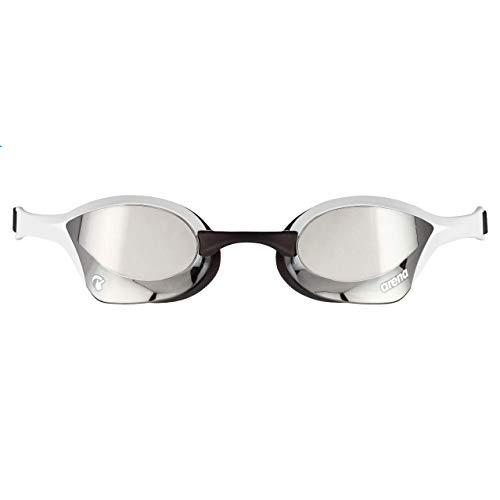 ARENA Unisex– Erwachsene Cobra Ultra Swipe Mr (Silver-White) Swim Goggles, Mehrfarbig, 1
