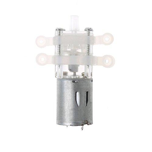LAOSI Mini bomba de diafragma de cebado de 12 V transparente para dispensador de agua