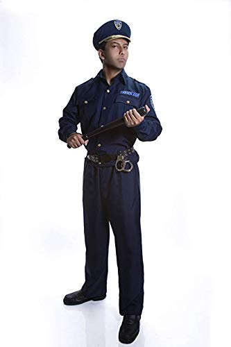 Dress Up America Adult Police Officer Costume Set - Medium - http://coolthings.us