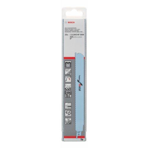 Bosch Professional Säbelsägeblat (25 Stück, für Metall, Zubehör für Säbelsäge)