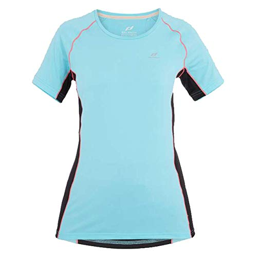 PRO TOUCH T- Shirt Gaisa, Turquoise/Black/NE, 42 Womens