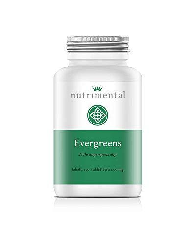 Nutrimental Evergreens Bio-Gerstengras - 150 Presslinge à 400 mg