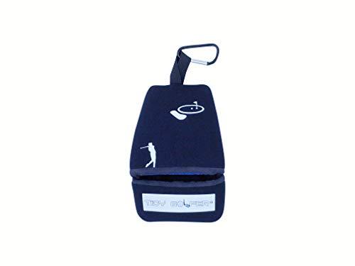 Tidy Golfer Negro – Limpiador Palos Pelotas Golf