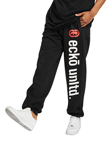 Ecko Unltd Männer Jogginghose 2Face Sweatpants Schwarz XL